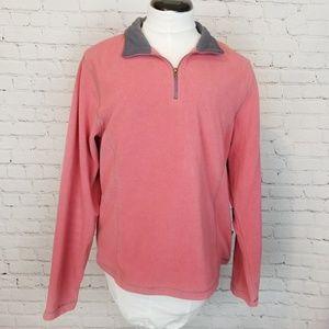 Kuhl MicroChamoise Pink 1/4 Zip Fleece Pullover